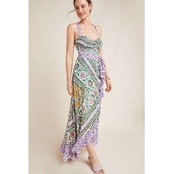 Amaline Ruffled-Printed Maxi Dress found on MODAPINS from Anthropologie FR for USD $182.00