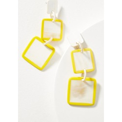 Sema Square-Shaped Drop Earrings found on Bargain Bro UK from Anthropologie UK