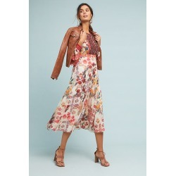 Robe midi imprimée transparente found on MODAPINS from Anthropologie FR for USD $299.00
