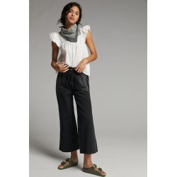 One Teaspoon Sterling Ultra High-Rise Wide-Leg Jeans By One Teaspoon in Black Size 32 found on MODAPINS from Anthropologie for USD $158.00