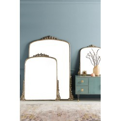Gleaming Primrose Mirror By Anthropologie in Silver Size XS found on Bargain Bro from Anthropologie for USD $644.48