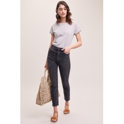 Agolde Nico Virtue High-Rise Slim Jeans - Blue, Size 32 found on MODAPINS from Anthropologie UK for USD $254.84