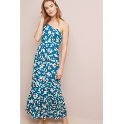 Bouquet One-Shoulder Maxi Dress found on MODAPINS from Anthropologie for USD $99.95