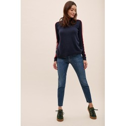 Agolde Nico High-Rise Slim Jeans - Denim, Size 25 found on MODAPINS from Anthropologie UK for USD $266.18