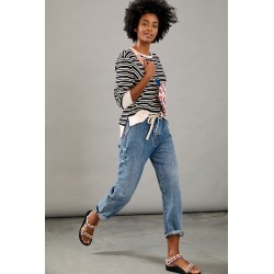 One Teaspoon Venice Ultra High-Rise Relaxed Jeans By One Teaspoon in Blue Size 28 found on MODAPINS from Anthropologie for USD $158.00