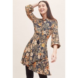 Robe imprimé Dalia found on MODAPINS from Anthropologie FR for USD $105.24