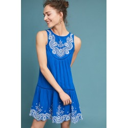 Robe brodée Wadden found on MODAPINS from Anthropologie FR for USD $209.95