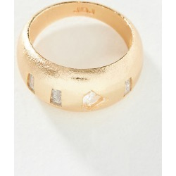 Goldie Ring By Joy Dravecky in Clear Size 6 found on Bargain Bro Philippines from Anthropologie for $78.00