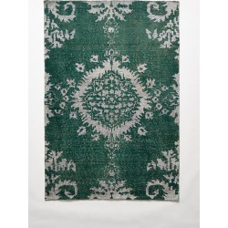 Stonewashed Medallion Rug By Anthropologie in Green Size 8 X 10 found on Bargain Bro Philippines from Anthropologie for $1398.00