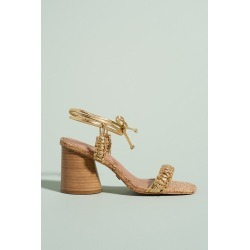 Aurum Heeled Sandals By Anthropologie in Gold Size 36 found on Bargain Bro India from Anthropologie for $158.00