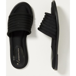 Ilana Puffy Slide Sandals By Anthropologie in Black Size 37 found on Bargain Bro India from Anthropologie for $80.00