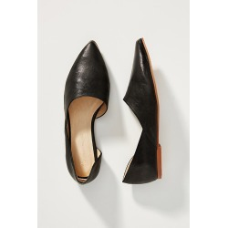Alix Asymmetrical Flats By Anthropologie in Black Size 37 found on MODAPINS from Anthropologie for USD $89.95
