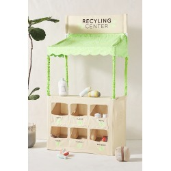 Recycling Center Play Set By Anthropologie in Green
