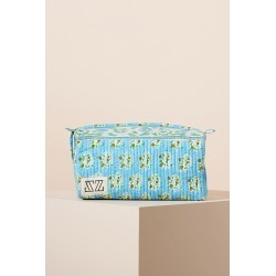 SZ Blockprints Rita Makeup Pouch By SZ Blockprints in Blue found on MODAPINS from Anthropologie for USD $88.00