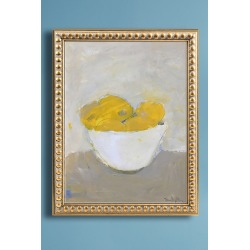 Bowl of Lemons Wall Art found on Bargain Bro UK from Anthropologie UK