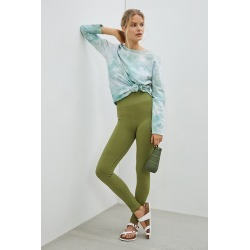 Daily Practice by Anthropologie Allegro Seamless Leggings By Daily Practice by Anthropologie in Green Size M found on Bargain Bro India from Anthropologie for $78.00