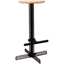 The Stick Bar + Counter Stool [Counter: Black]
