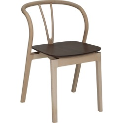 Flow Chair Stacking with Walnut Seat [Forest Green] found on Bargain Bro India from A+R for $1395.00