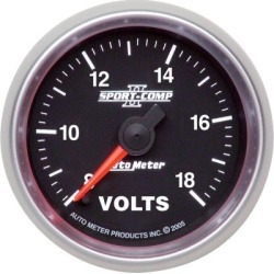 Voltmeter Autometer  Voltmeter 3691 found on Bargain Bro India from autopartswarehouse.com for $139.95