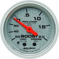 Boost Gauge Autometer  Boost Gauge 4303-M