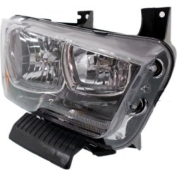 2011-2014 Dodge Charger Headlight AutoTrust Gold Dodge Headlight REPD100147Q found on Bargain Bro India from autopartswarehouse.com for $147.45