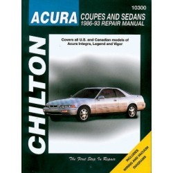 1986-1993 Acura Integra Repair Manual Chilton Acura Repair Manual 10300 found on Bargain Bro India from autopartswarehouse.com for $26.18