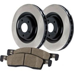 2003-2011 Lincoln Town Car Brake Disc and Pad Kit Centric Lincoln Brake Disc and Pad Kit 909.61523