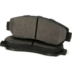 2014-2018 Fiat 500L Brake Pad Set Centric Fiat Brake Pad Set 300.17220