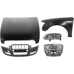 2007-2008 Audi A6 Hood Replacement Audi Hood KIT1-030217-42-D found on Bargain Bro India from autopartswarehouse.com for $1329.84