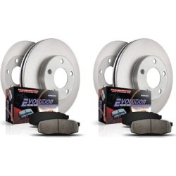 2015 Mercedes Benz ML250 Brake Disc and Pad Kit Powerstop Mercedes Benz Brake Disc and Pad Kit KOE7623 found on Bargain Bro India from autopartswarehouse.com for $262.45