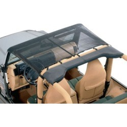 1987-1991 Jeep Wrangler (YJ) Summer Top Vertically Driven Products Jeep Summer Top 7691JKB