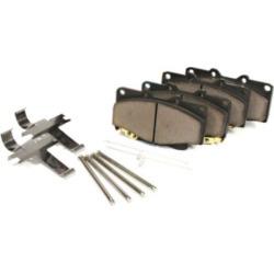 2008 Mini Cooper Brake Pad Set Centric Mini Brake Pad Set 105.12040