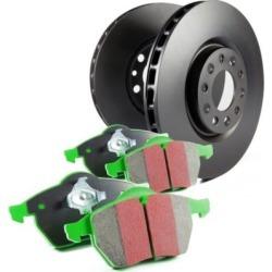 2008-2015 Smart Fortwo Brake Disc and Pad Kit EBC Smart Brake Disc and Pad Kit S11KF1149