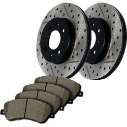 1992 Eagle 2000 GTX Brake Disc and Pad Kit StopTech Eagle Brake Disc and Pad Kit 938.46004 found on Bargain Bro India from autopartswarehouse.com for $212.00