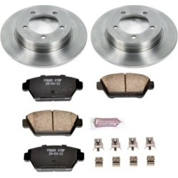 1991-1993 Eagle Talon Brake Disc and Pad Kit Powerstop Eagle Brake Disc and Pad Kit KOE684