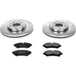 2003 Cadillac Seville Brake Disc and Pad Kit Powerstop Cadillac Brake Disc and Pad Kit K2974 found on Bargain Bro Philippines from autopartswarehouse.com for $202.86