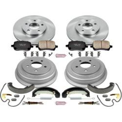 2006-2007 Chevrolet HHR Brake Disc And Drum Kit Powerstop Chevrolet Brake Disc And Drum Kit KOE15222DK