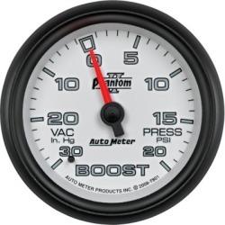 Boost Gauge Autometer  Boost Gauge 7801