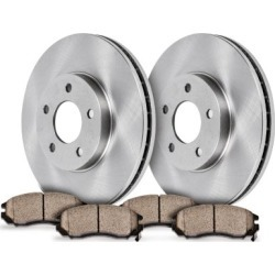 2009-2011 Volkswagen Routan Brake Disc and Pad Kit SureStop Volkswagen Brake Disc and Pad Kit 69OEREP55 found on Bargain Bro Philippines from autopartswarehouse.com for $71.04