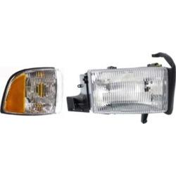 Dodge Ram 1500 Headlight Replacement Dodge