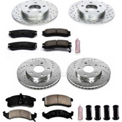 1992-1993 Buick Riviera Brake Disc and Pad Kit Powerstop Buick Brake Disc and Pad Kit K2760 found on Bargain Bro Philippines from autopartswarehouse.com for $271.80
