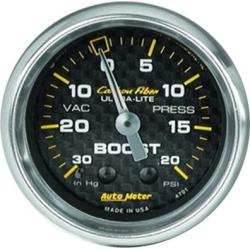 Boost Gauge Autometer  Boost Gauge 4701