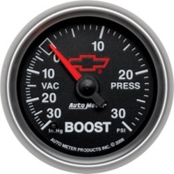 Boost Gauge Autometer  Boost Gauge 3659-00406