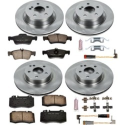 2003 Mercedes Benz E500 Brake Disc and Pad Kit Powerstop Mercedes Benz Brake Disc and Pad Kit KOE4521 found on Bargain Bro India from autopartswarehouse.com for $261.23