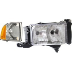 1999-2001 Dodge Ram 1500 Headlight Replacement Dodge Headlight KIT1-060717-33-A