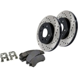 2003-2005 Mazda 6 Brake Disc and Pad Kit StopTech Mazda Brake Disc and Pad Kit 979.45009R found on Bargain Bro India from autopartswarehouse.com for $231.76
