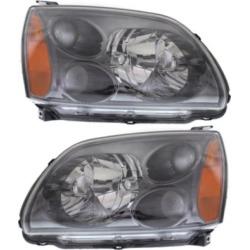 2004-2008 Mitsubishi Galant Headlight Replacement Mitsubishi Headlight SET-REPM100177