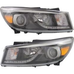 2015-2018 Kia Sedona Headlight Replacement Kia Headlight SET-REPK100193 found on Bargain Bro India from autopartswarehouse.com for $252.32