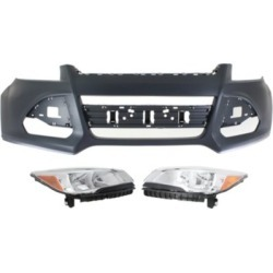 2013-2016 Ford Escape Headlight Replacement Ford Headlight KIT1-022518-100-B