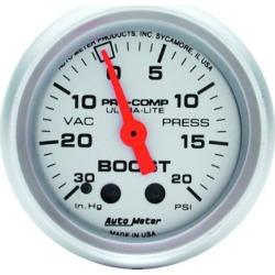 Boost Gauge Autometer  Boost Gauge 4301